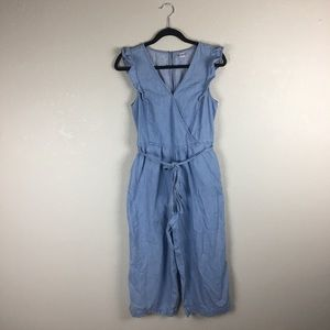 Old navy chambray jumpsuit S